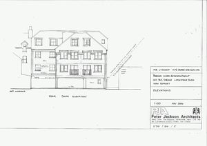 Littlestone Road, Littlestone, New Romney - Building plot for sale with full planning permission for 11 flats and 2 retail units   £225,000 - Photo 1